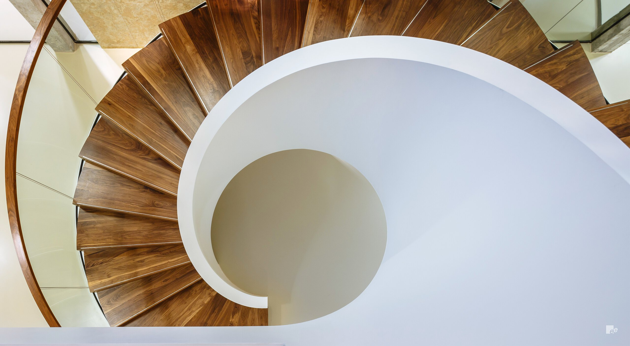 Topview of bespoke staircases